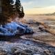 Kjersti Vick, December Morning at Cascade River State Park Below Zero